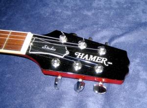 Hamer headstock