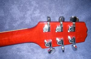 Hamer headstock back