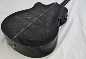 Schecter Hellraiser Studio Acoustic – back beauty