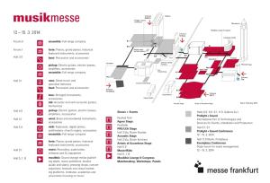 Musikmesse – Plan